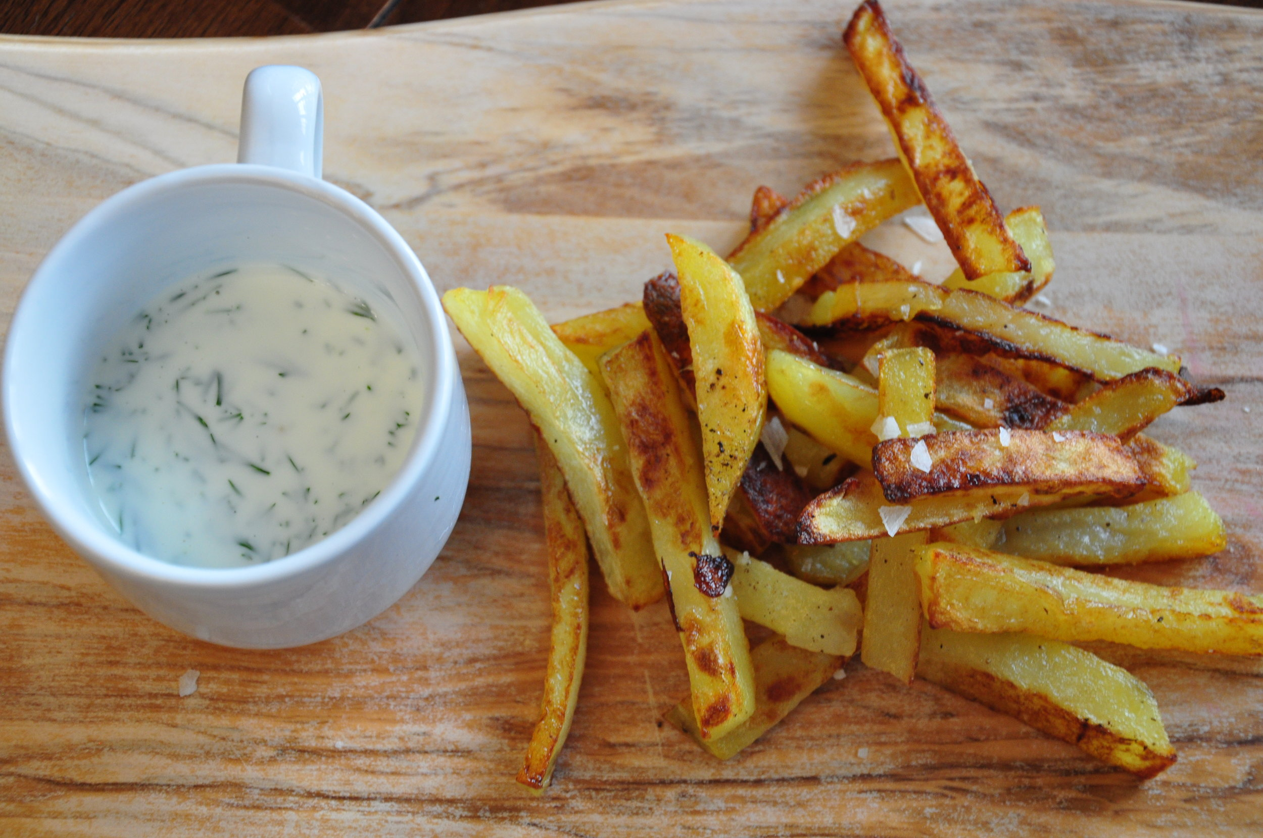 """A home cook's take on """"Ty's Fries."""""""