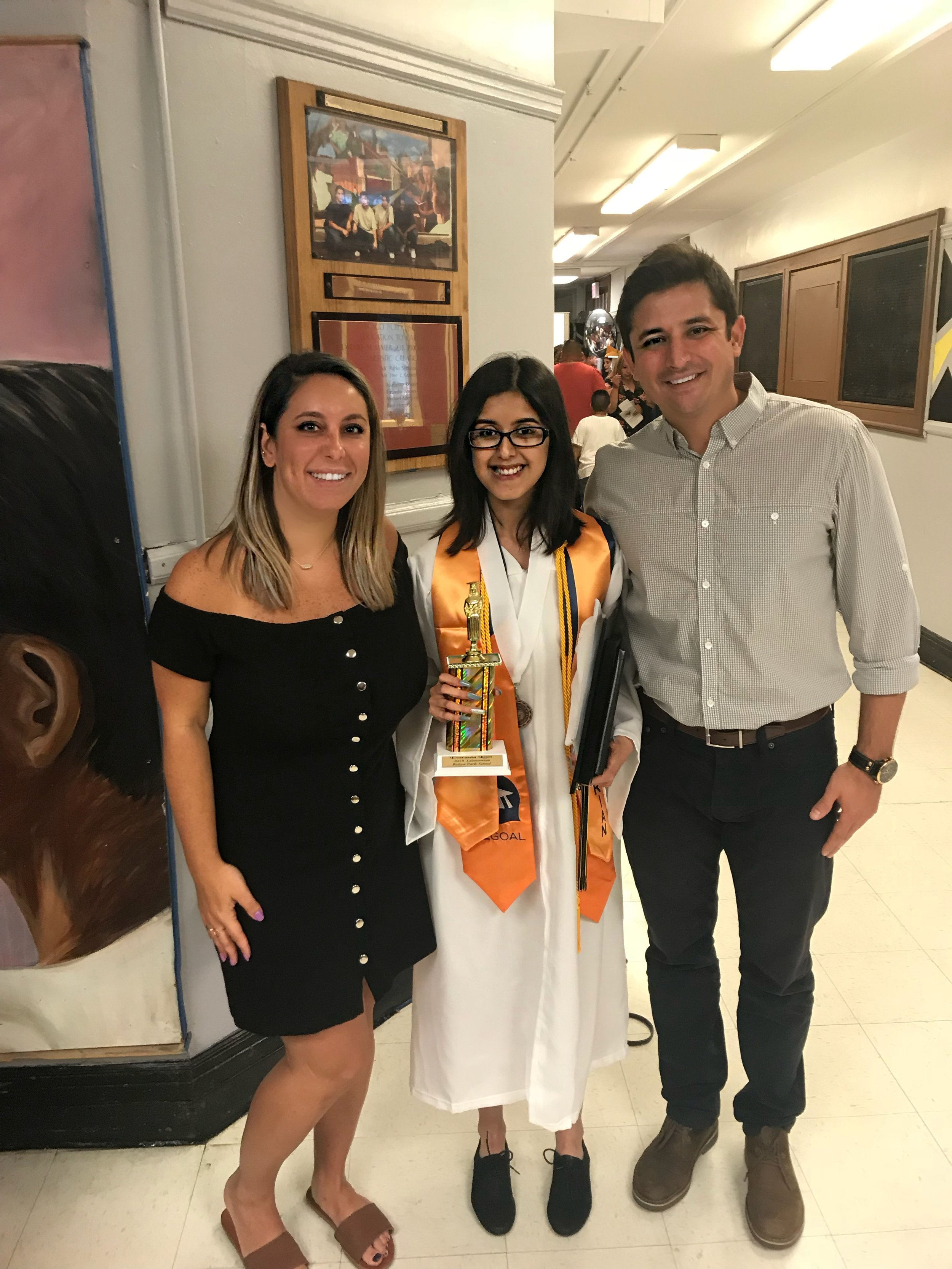 Kelvyn Park High School Recipient: Everania Leon -