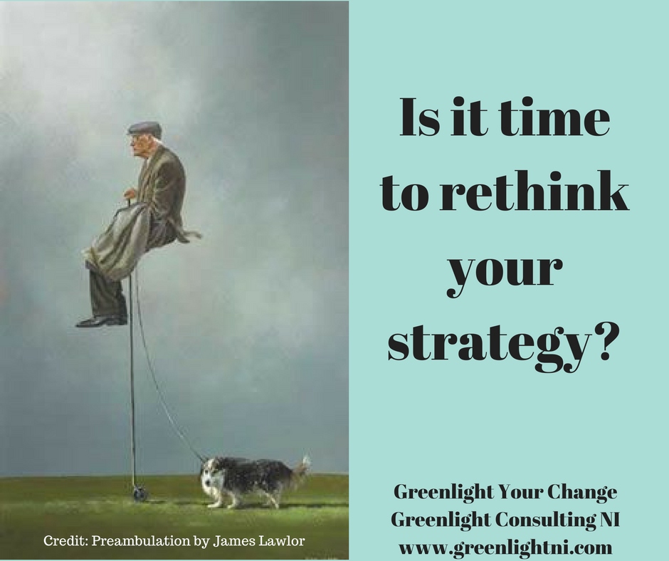 Rethinking your strategy starts with reimagining the future.  -