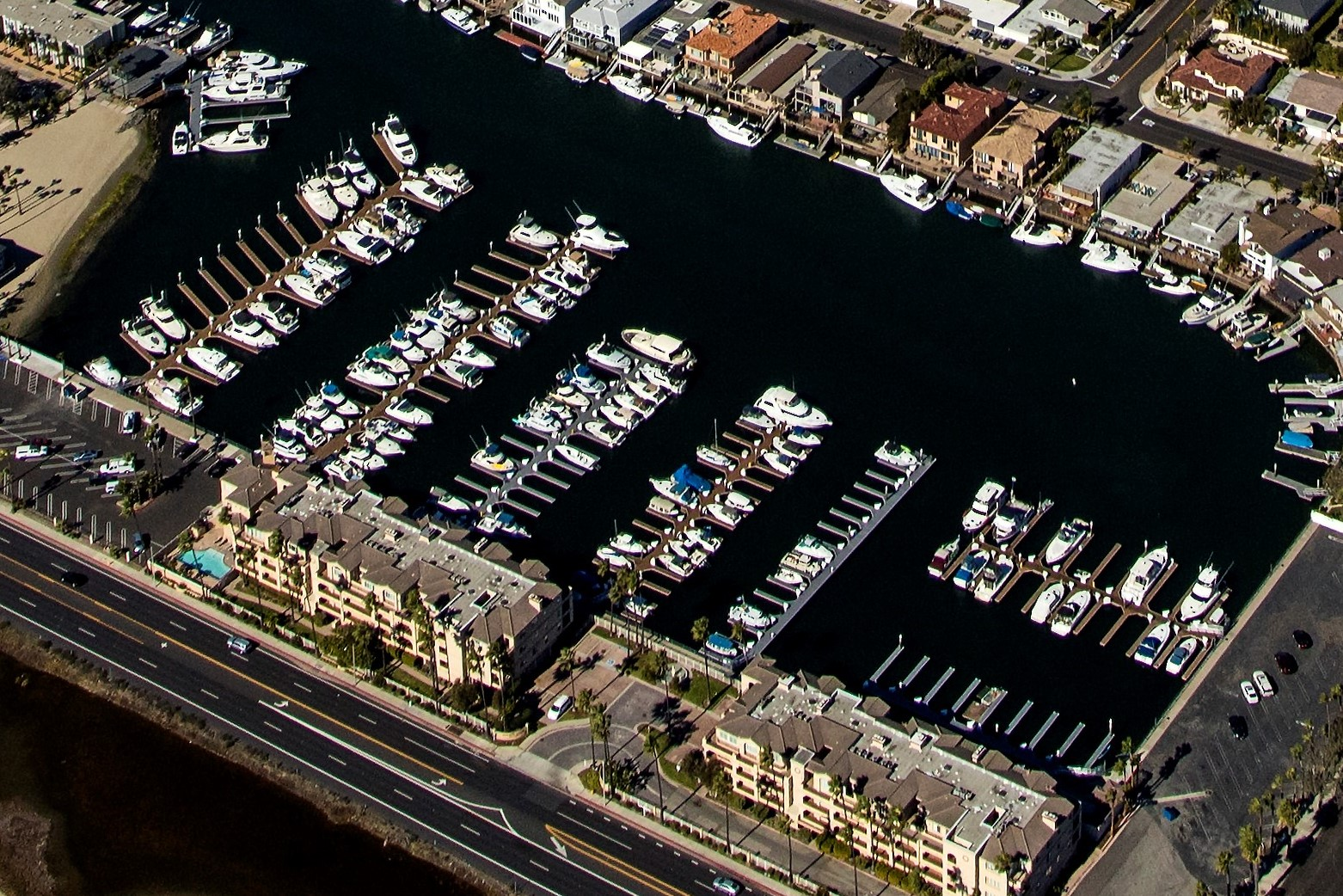 Huntington Harbour Marina
