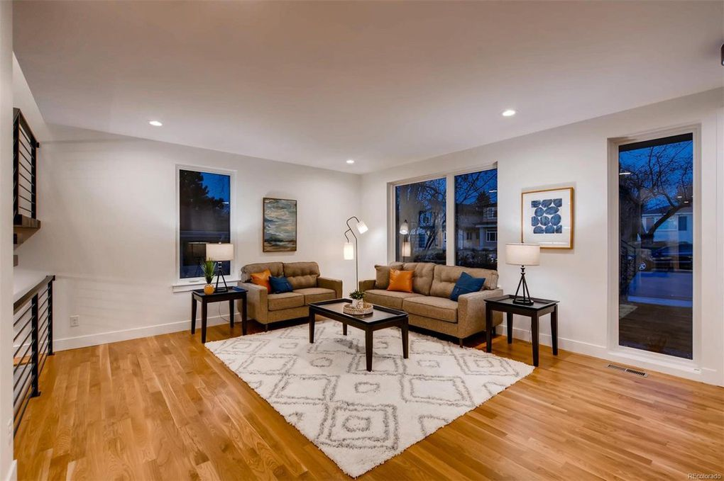 Clermont Street | Living Room
