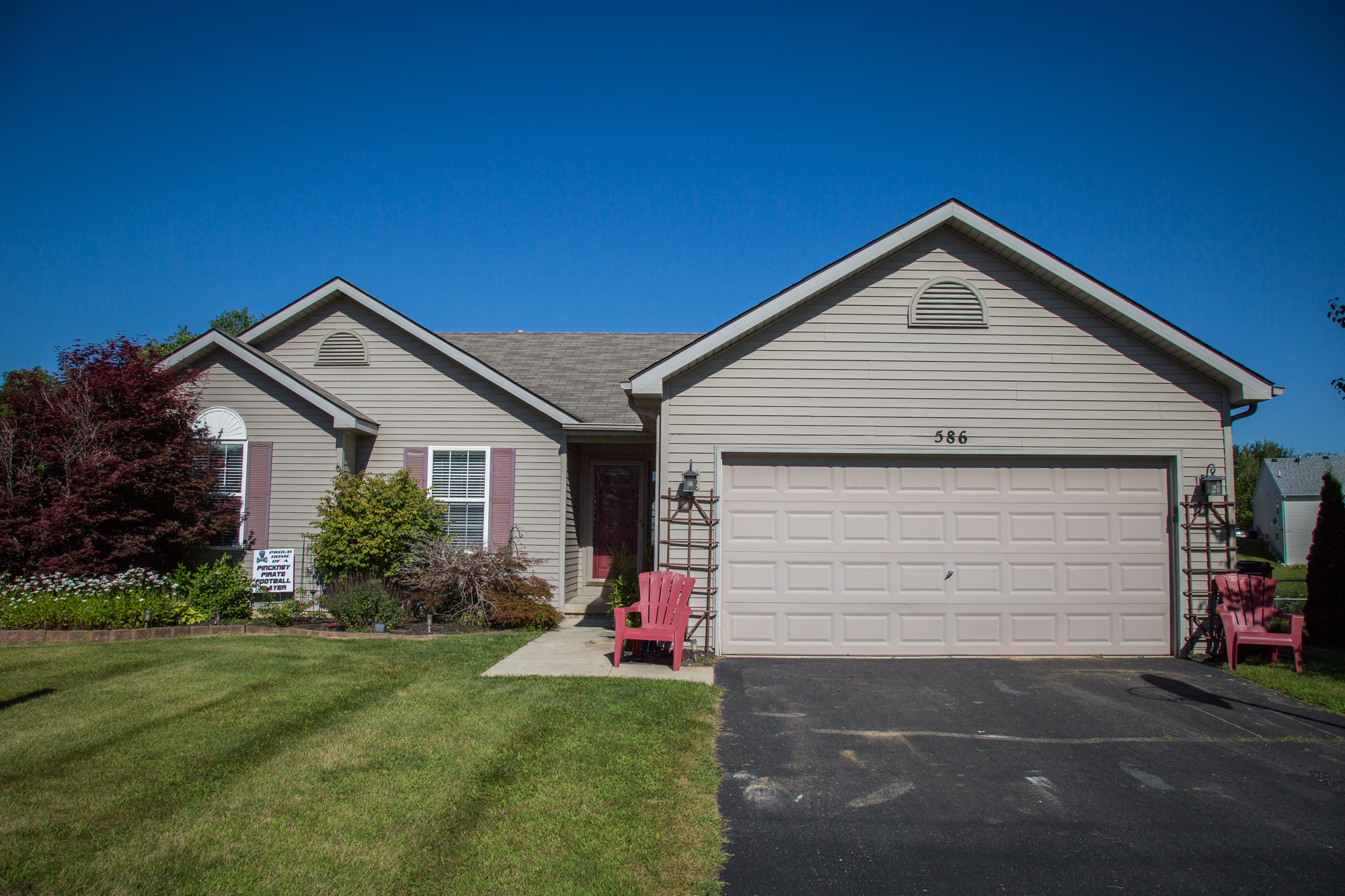 Town Trail- Pinckney - $175,000   DOM 29 / Sold for 100% of asking price / 4 Showings