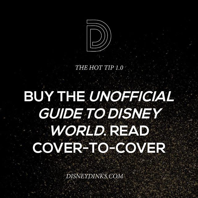 Oh #unofficialguide how we love thee.