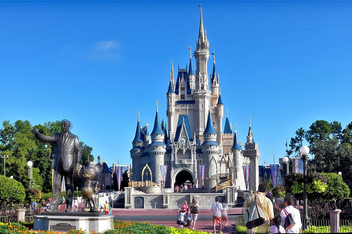A proper castle.                                                  disneymagic.com