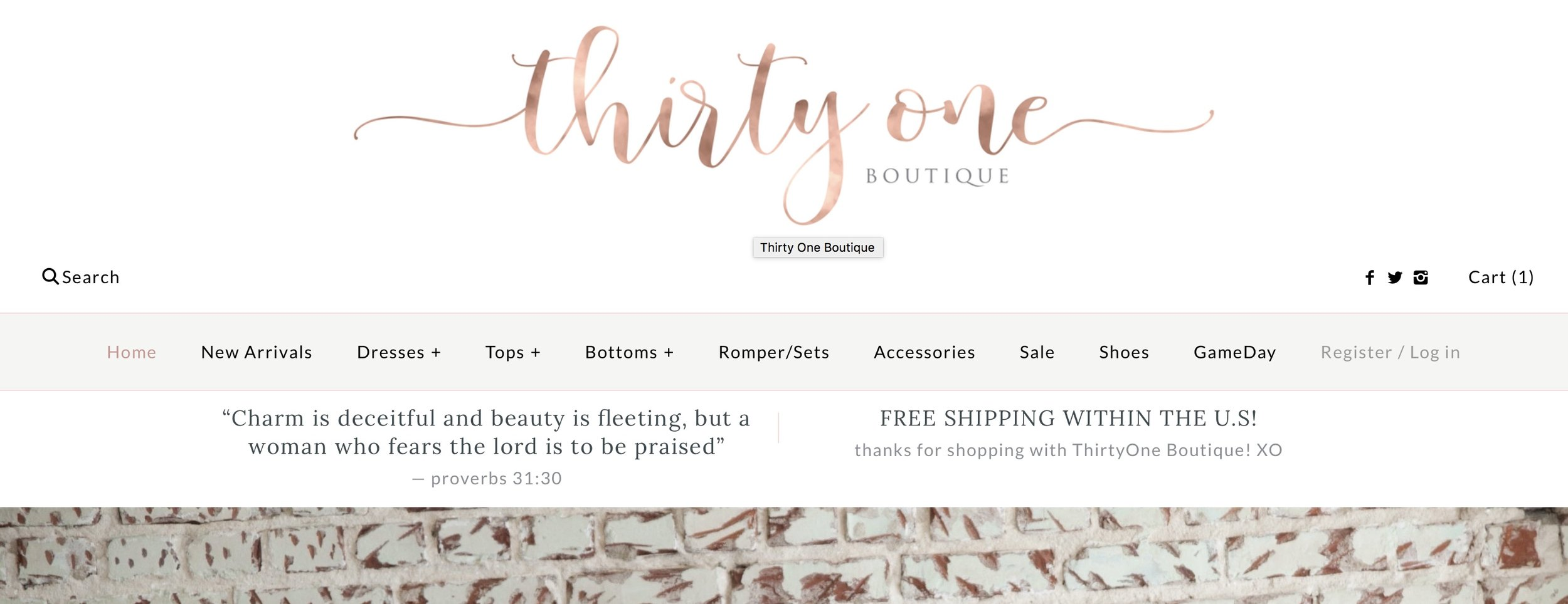 No. 2 - Thirty One Boutique