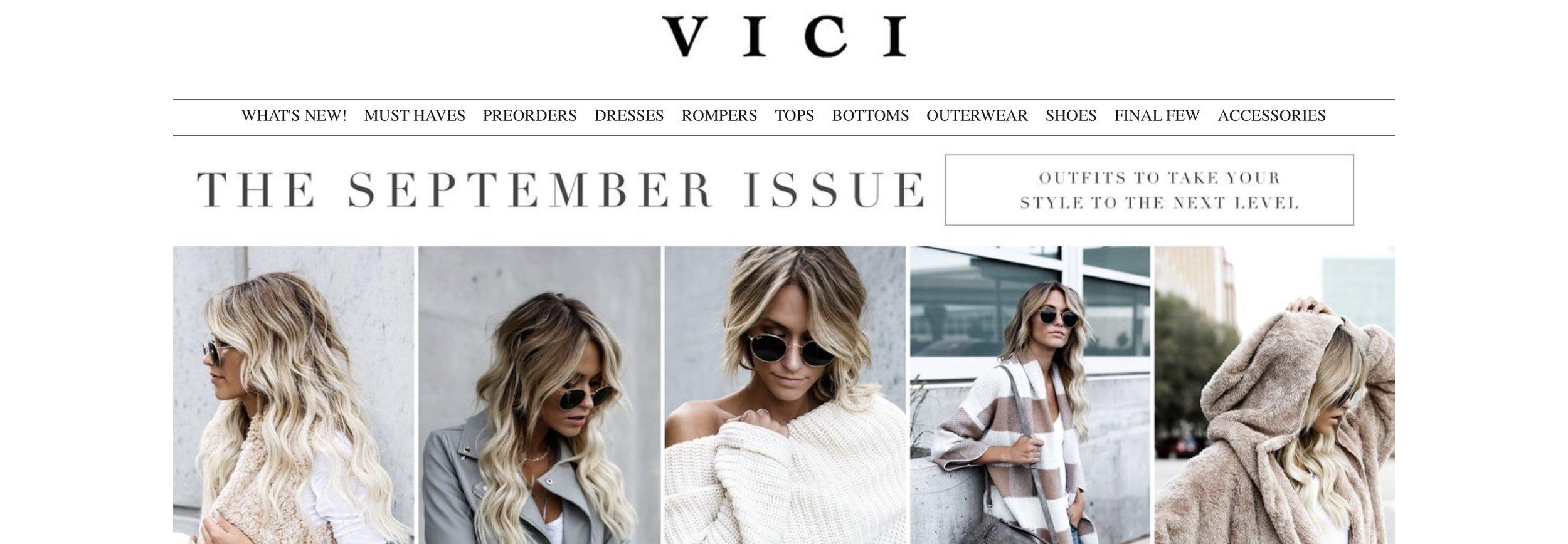 No. 3 - Vici Collection