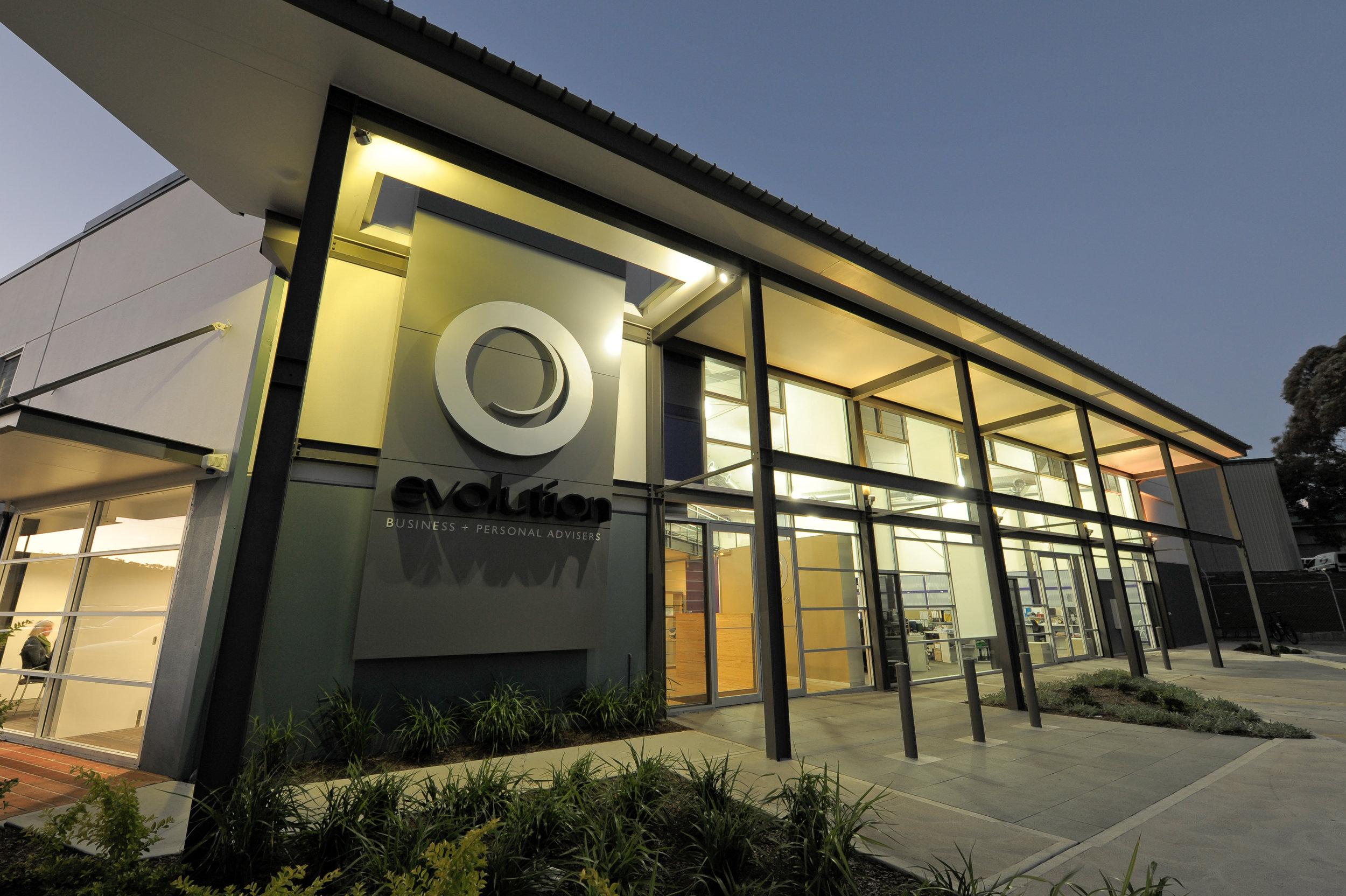 Evolution Advisers Office - Warners Bay