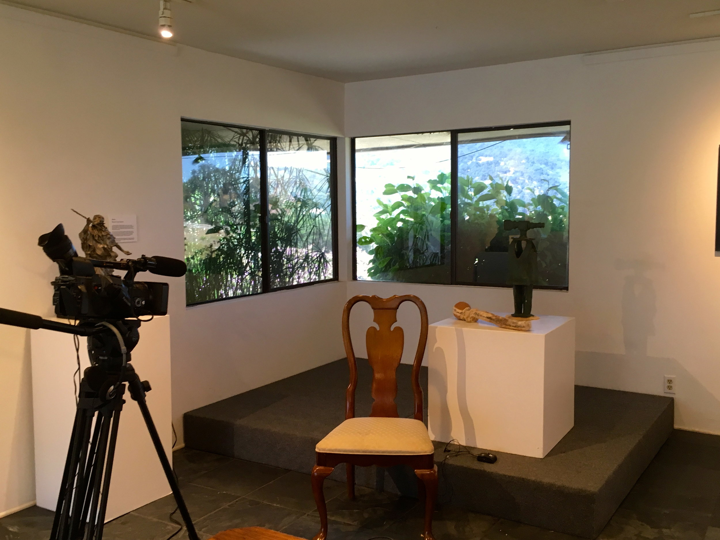 - I was video interviewed this week by Kevin for the Beatrice Wood Center for the Arts