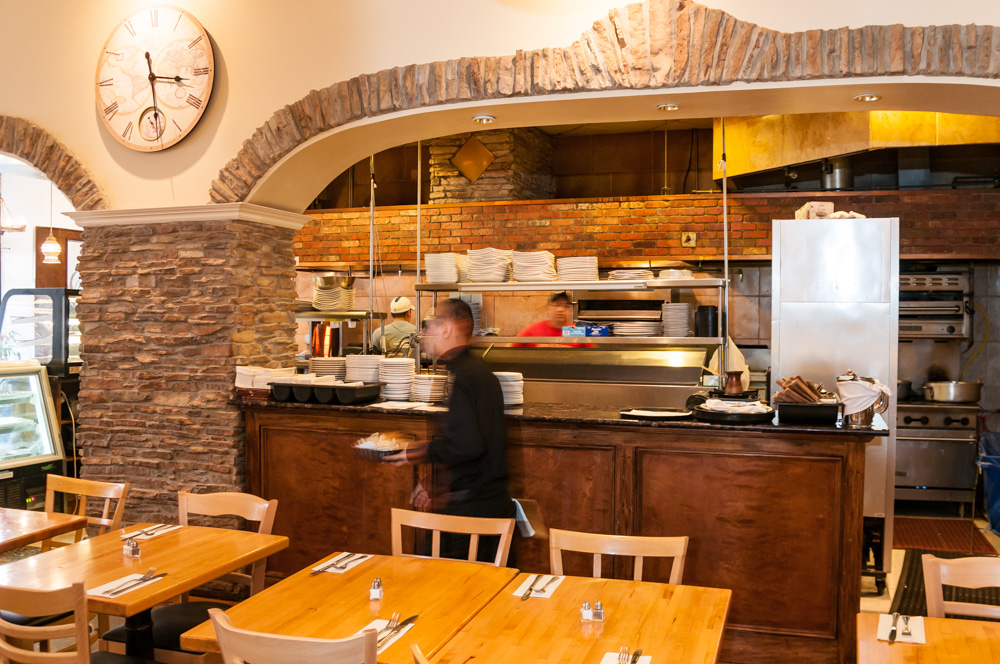 Our open kitchen and warm atmosphere are inviting for parties of all sizes.