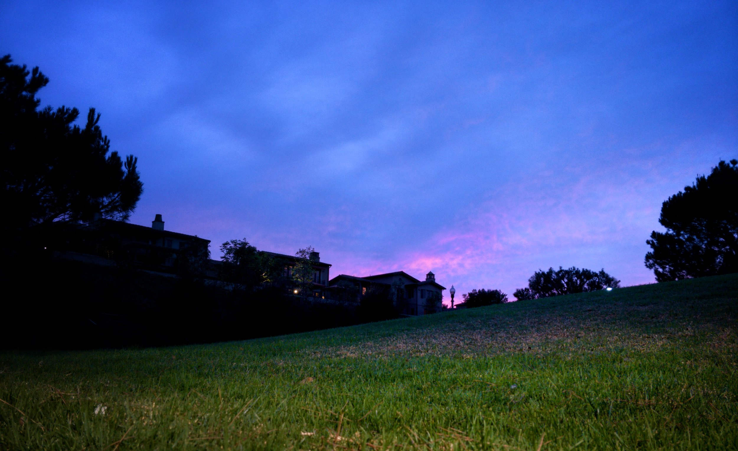 Sunset at Quail Hills