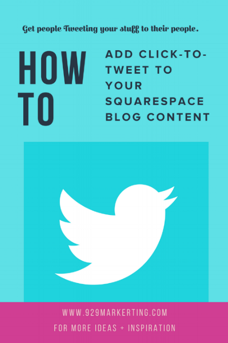how to add click-to-tweet to your squarespace blog