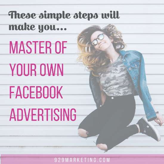 these steps will make you master of your own facebook advertising