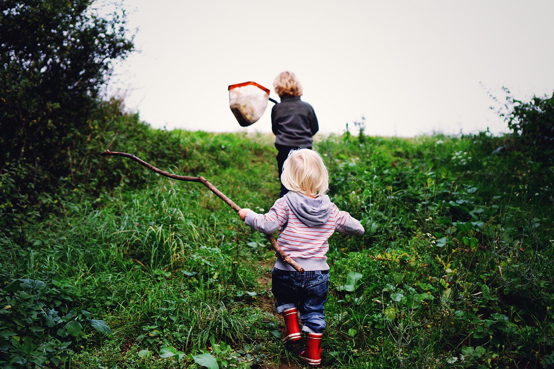 Little boys on an adventure - Leila Balin Photography