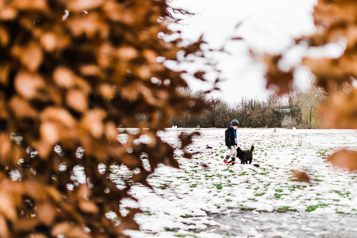 Playing in the snow - Huntingdon - Cambridge - Cambridgeshire - Diana Hagues Photography-10.jpg