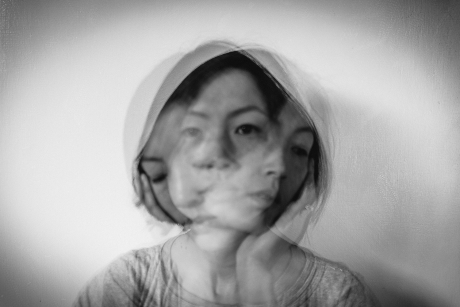 Different state of emotions in a self-portrait study by Diana Hagues Photography
