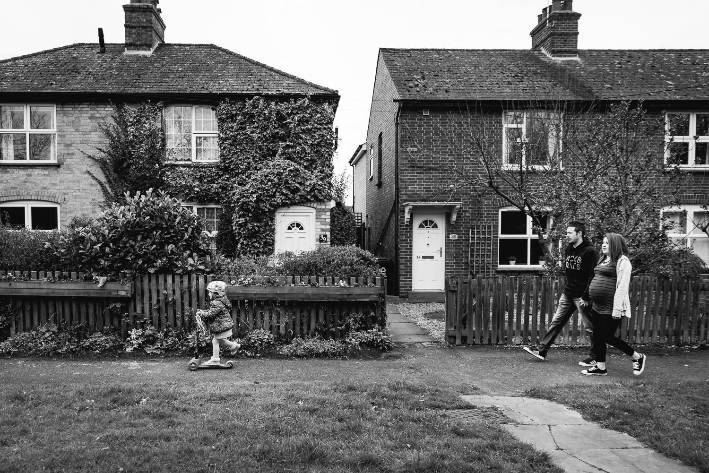 Walking around the neighbourhood