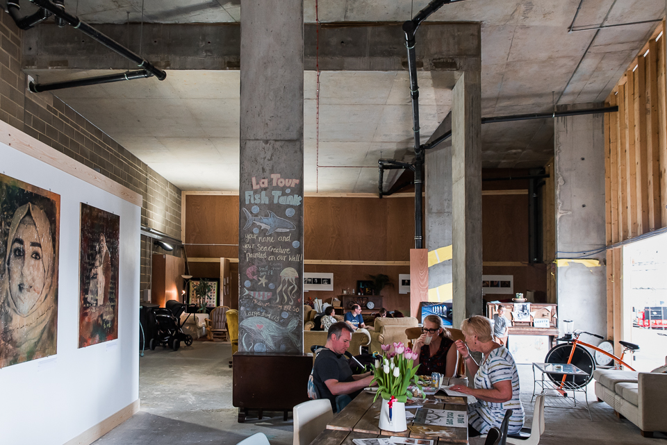 Community cafe Ipswich waterfront