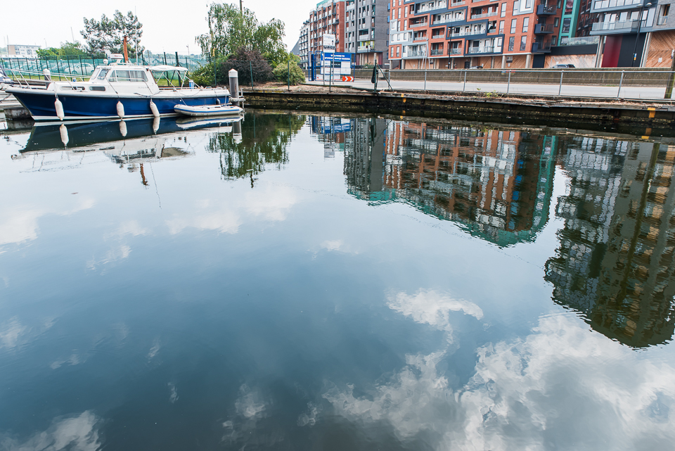Reflections on Ipswich waterfront