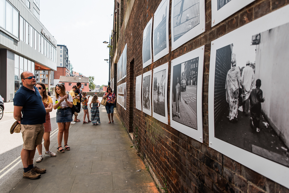 Winerack Photography billboards on Ipswich waterfront