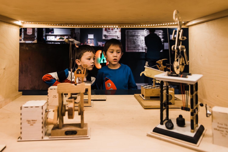 MAD museum mechanical art display