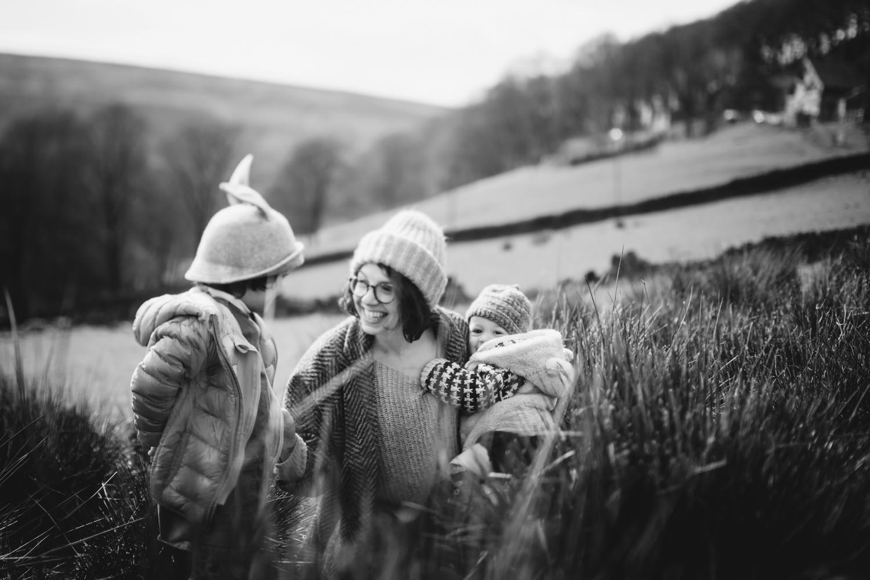Captured Childhood retreat photo session in Hebden Bridge, Yorks