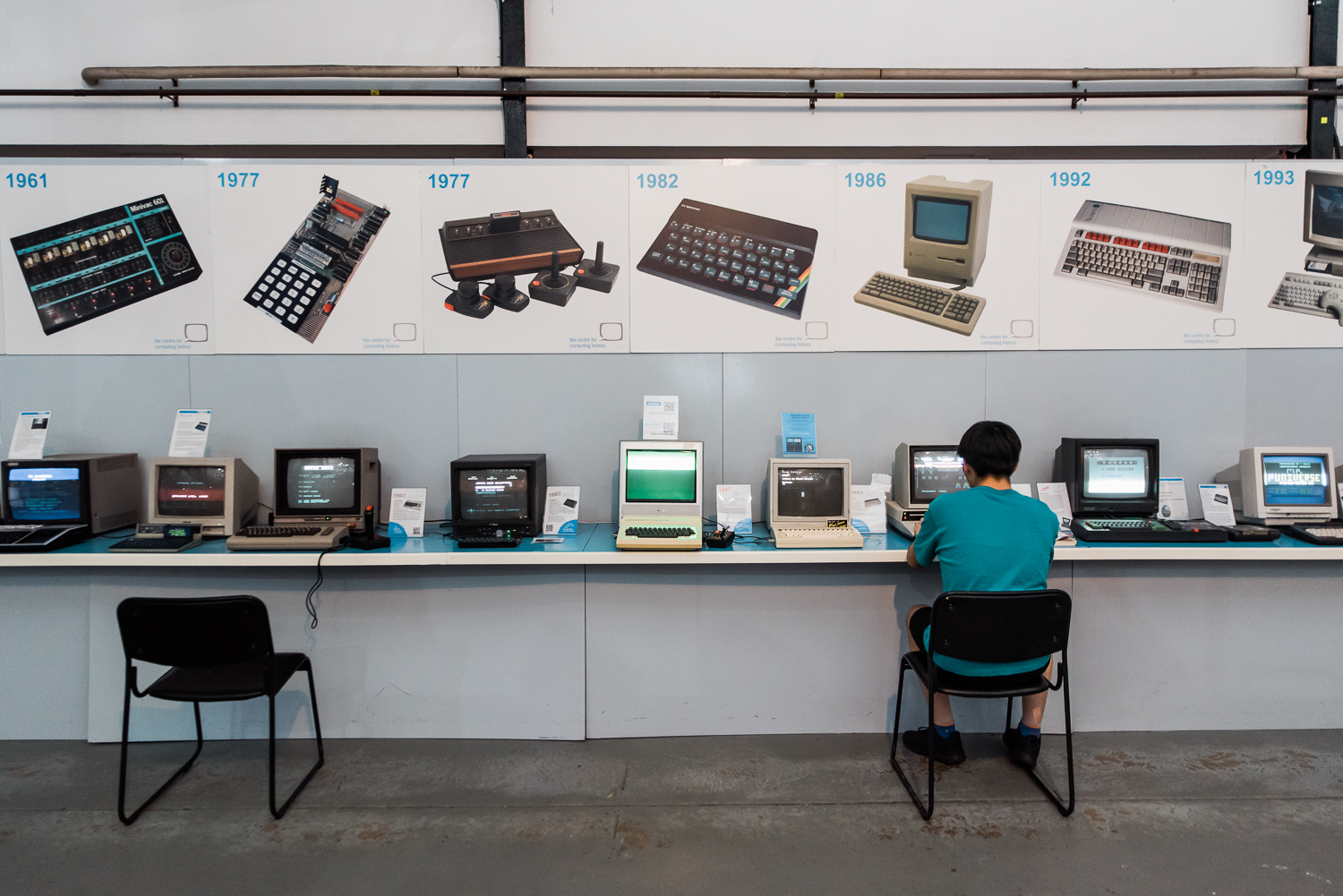 Computers in the Museum of Computing History