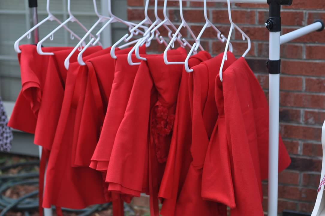 Haymount Homes Little Red Riding Hood Party Red Cape Costume.jpg
