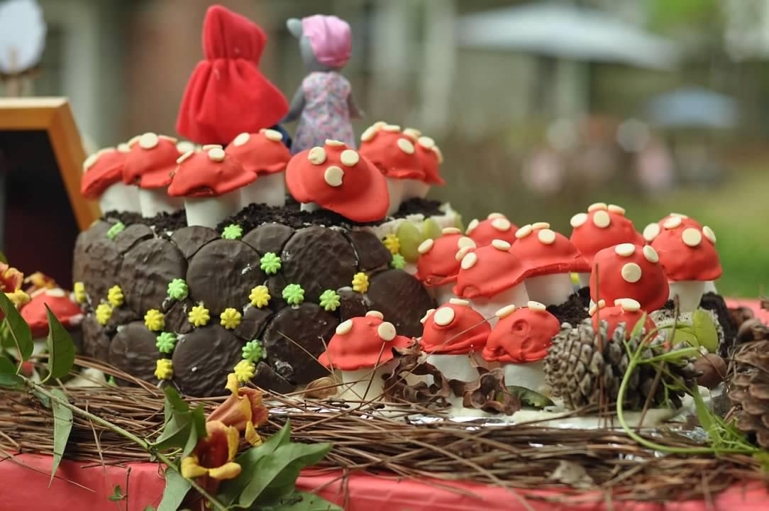 Haymount Homes Little Red Riding Hood Party Cake Mushroom.jpg
