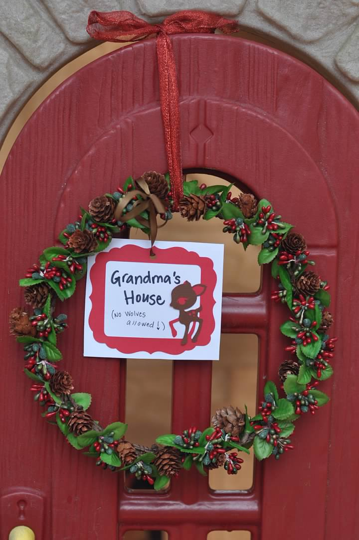 Haymount Homes Little Red Riding Hood Party grandma's house.jpg
