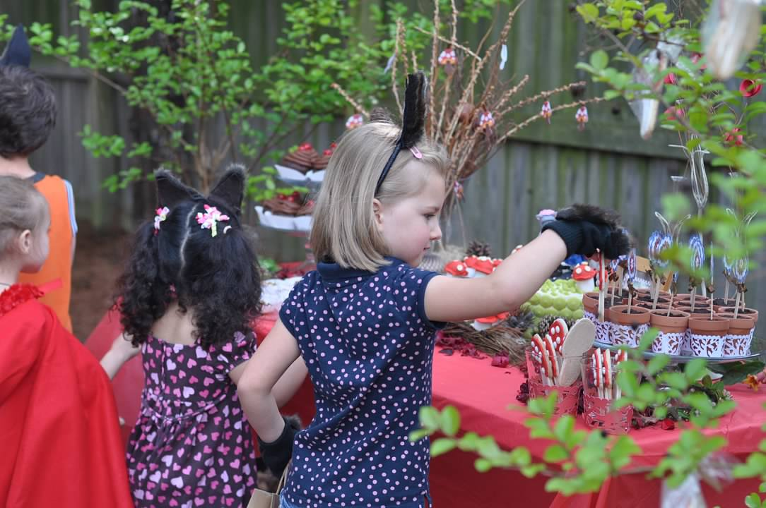 Haymount Homes Little Red Riding Hood Party kids.jpg