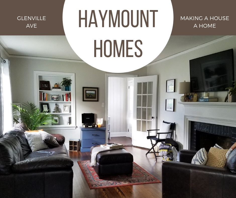 Haymount Homes HIstorical Home House Rental Makeover Fayetteville NC