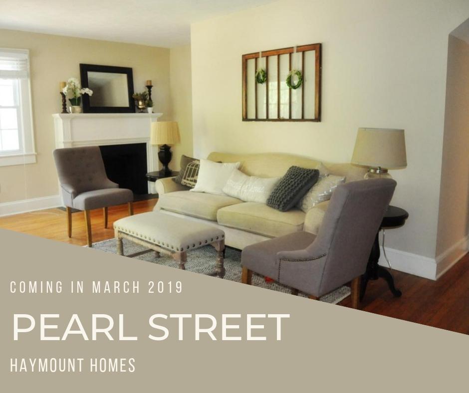 Haymount Homes LLC pearl Street LIving ROom