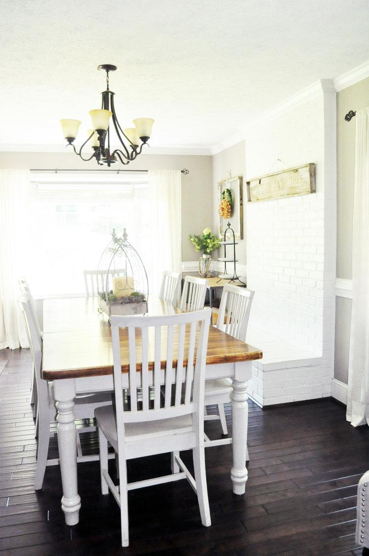 weldon dining room.jpg haymount homes b2 white paint
