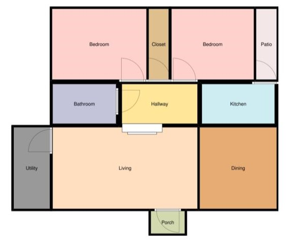 Haymount Homes LLC Glenville Ave First Floor Layout Floorplan 2.jpg