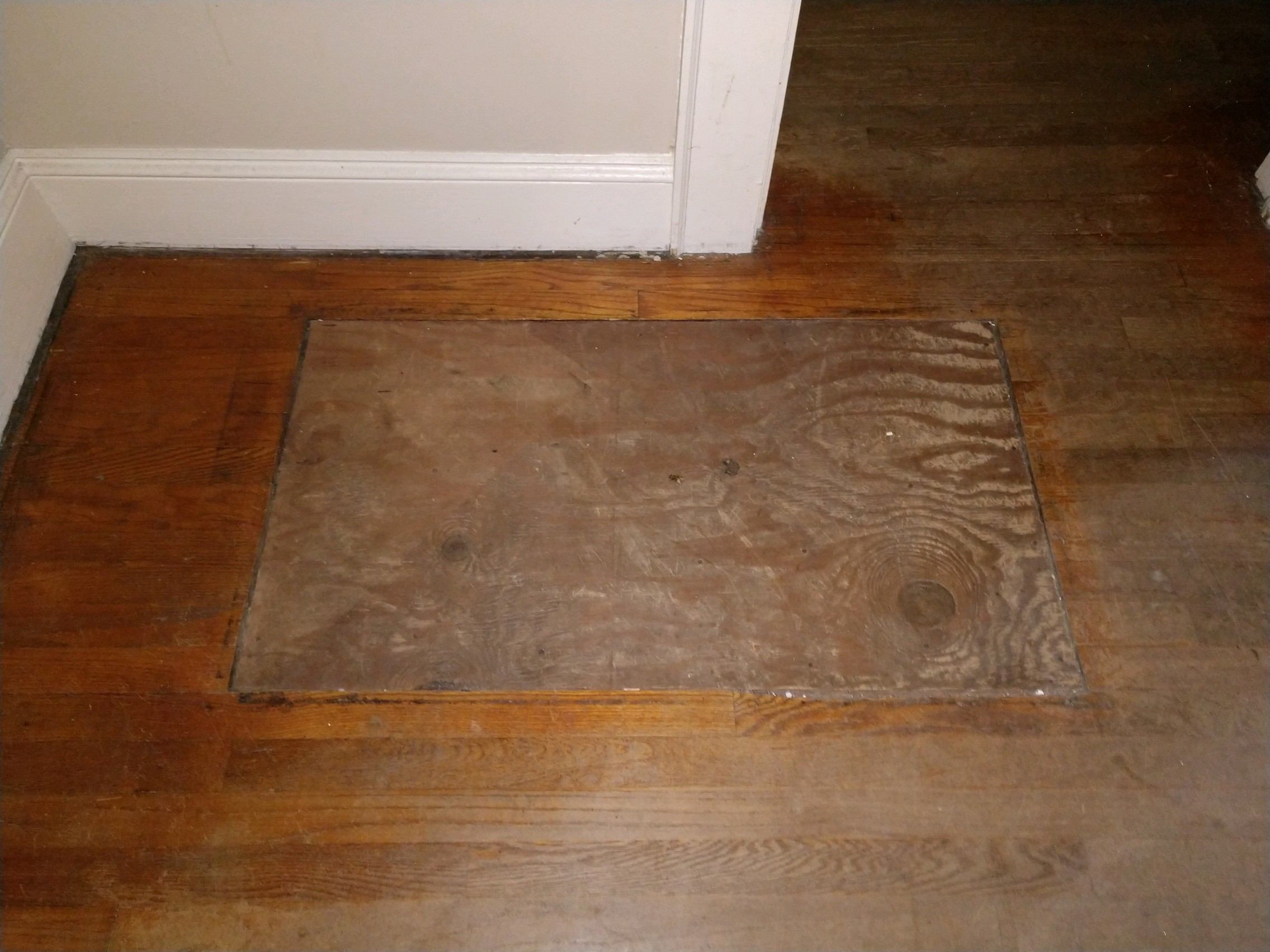 Haymount Homes LLC Greenland Drive Wood Floor Before