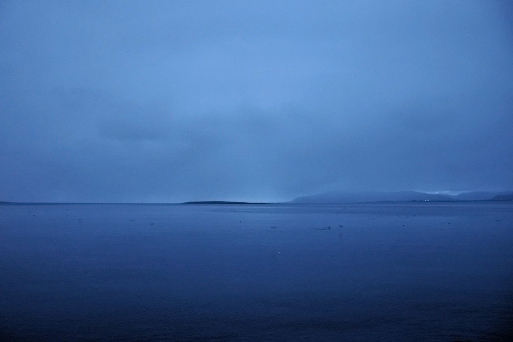 View from the Sculpture and Shore Walk, Reykjavik
