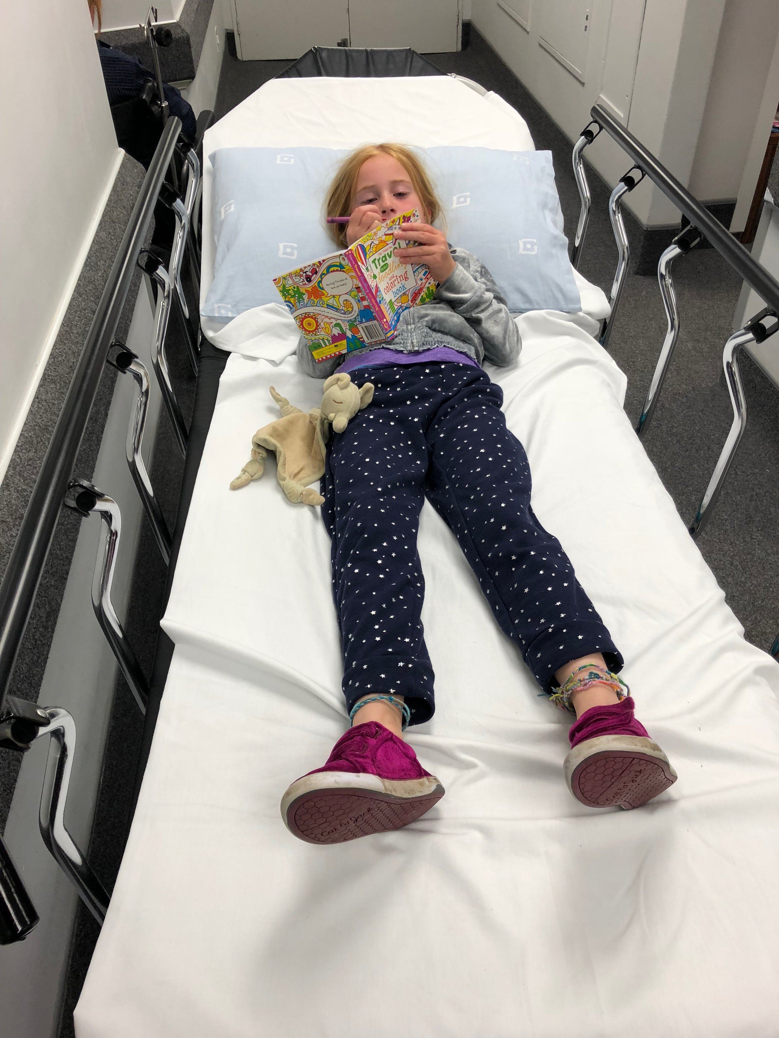A quick trip to urgent care in Cape Town