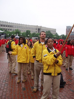 If you look closely, you can see me in my oversized City Year uniform