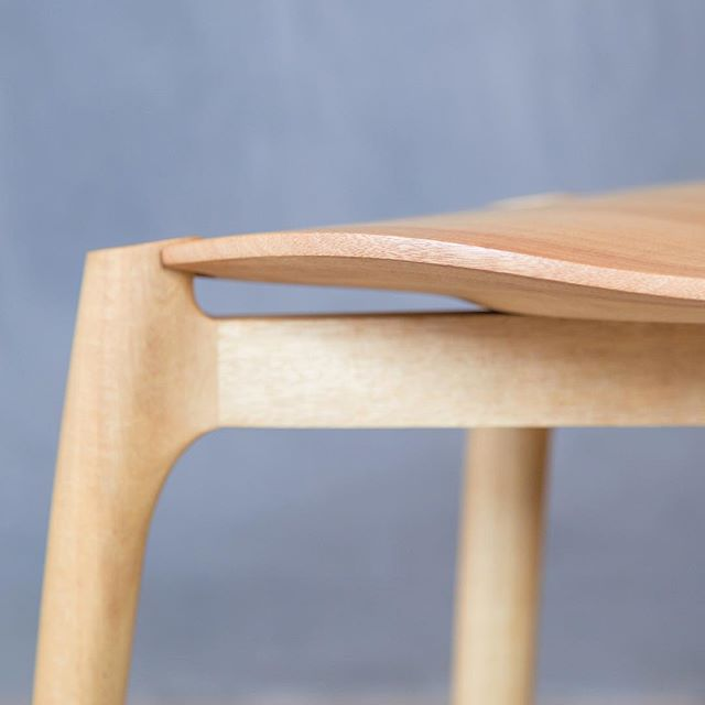S chair. Front leg profile  #madeinmelbourne #furnituredesign #handcrafted #chair #madeinaustralia #melbournedesign