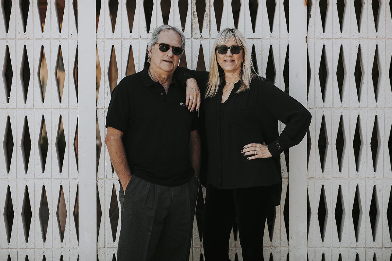 Katy and John Glentzer