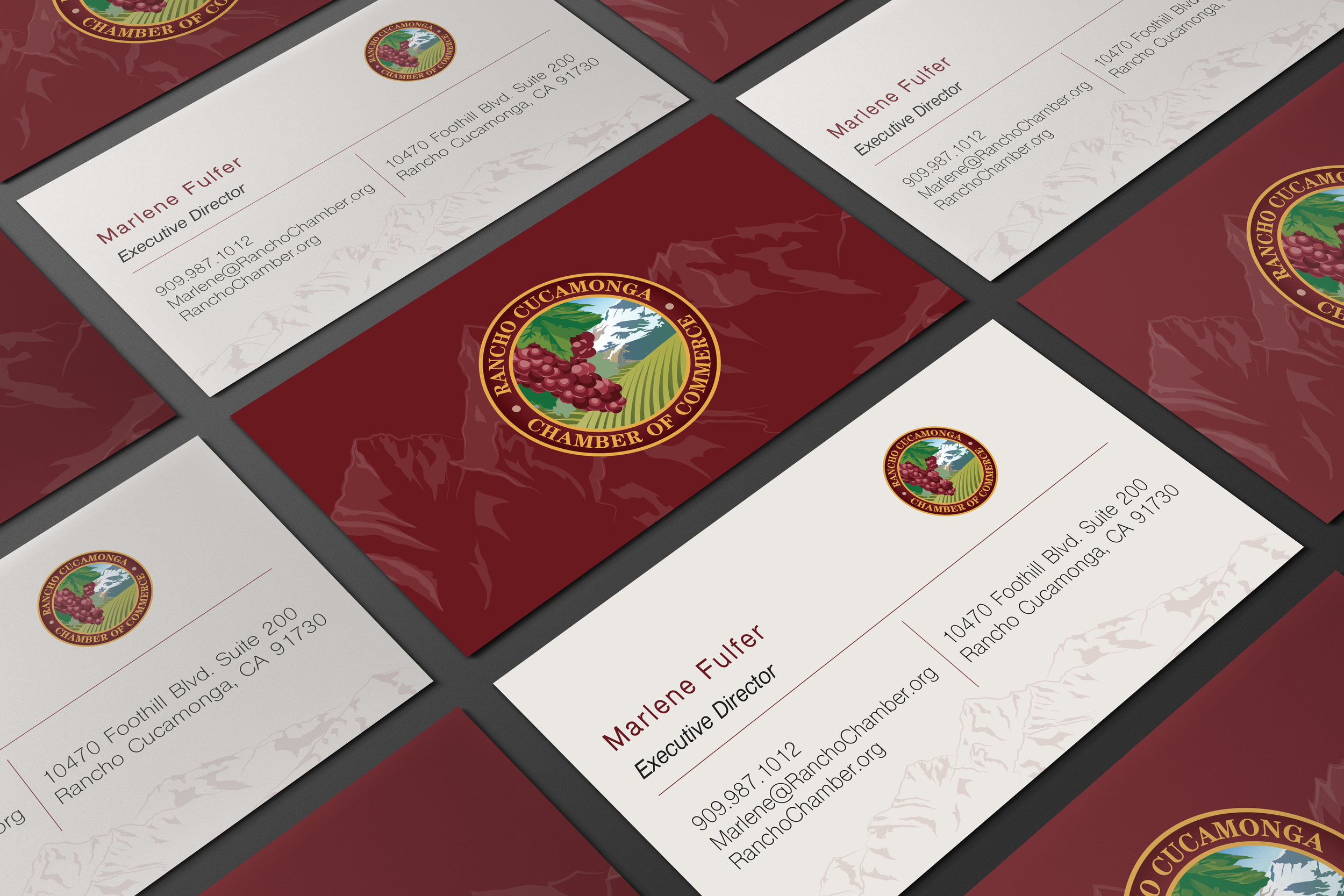 Rancho Cucamonga Chamber of Commerce Business Card