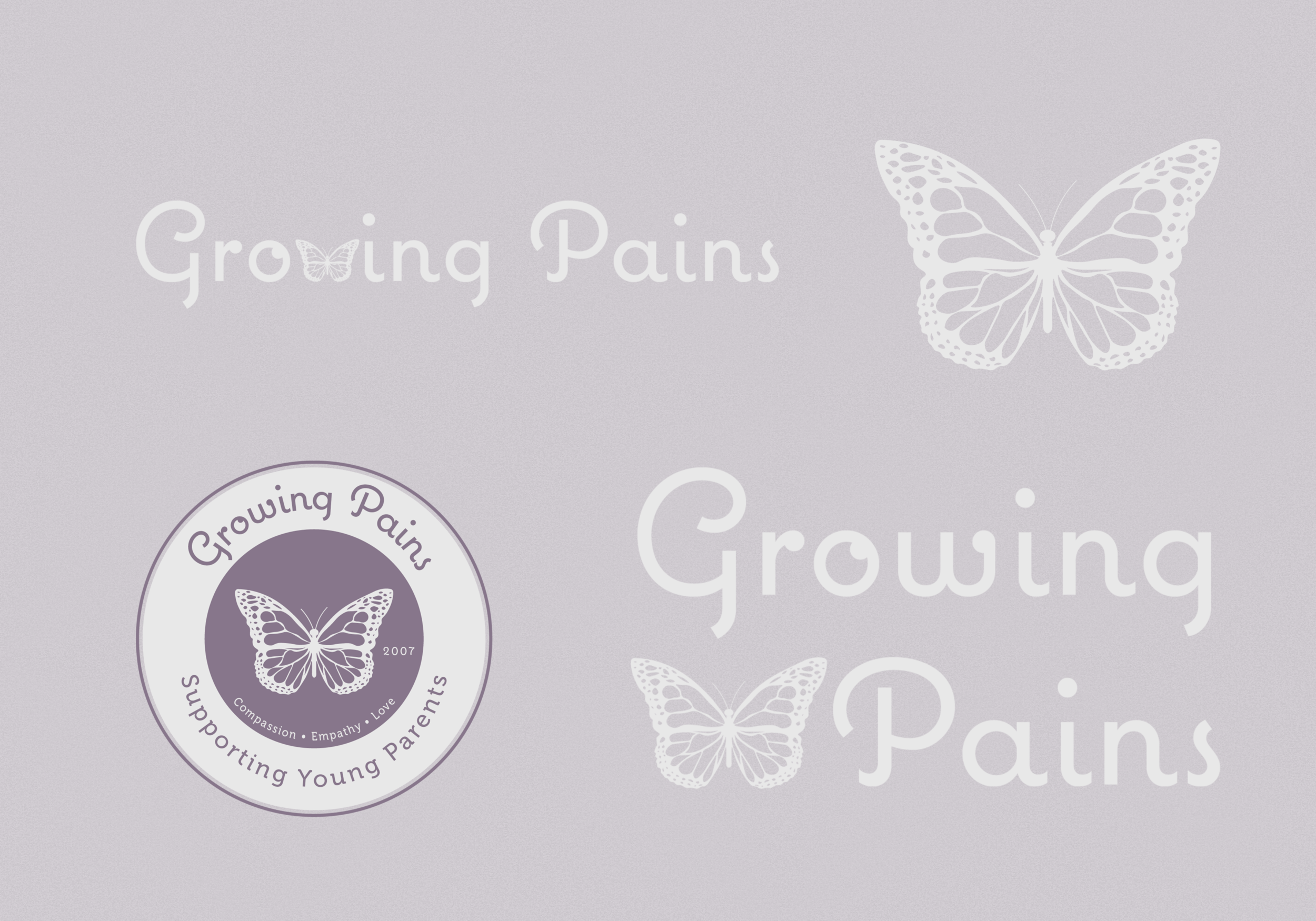 Growing Pains Logo Design by Odin Marketing House