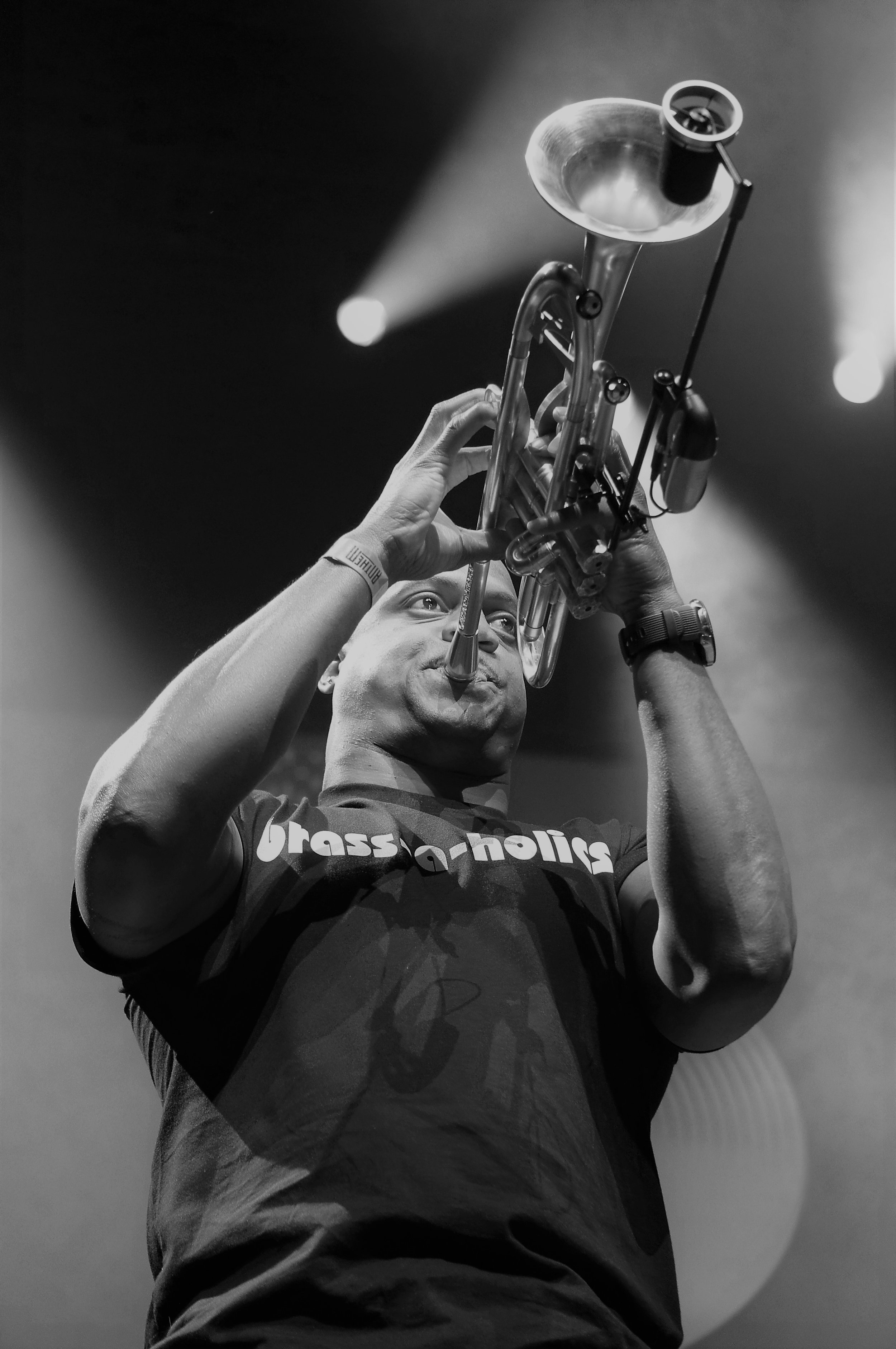 The Brass-A-Holics performed at The Anthem 6/15/19 (photo by Bridget Arnwine)