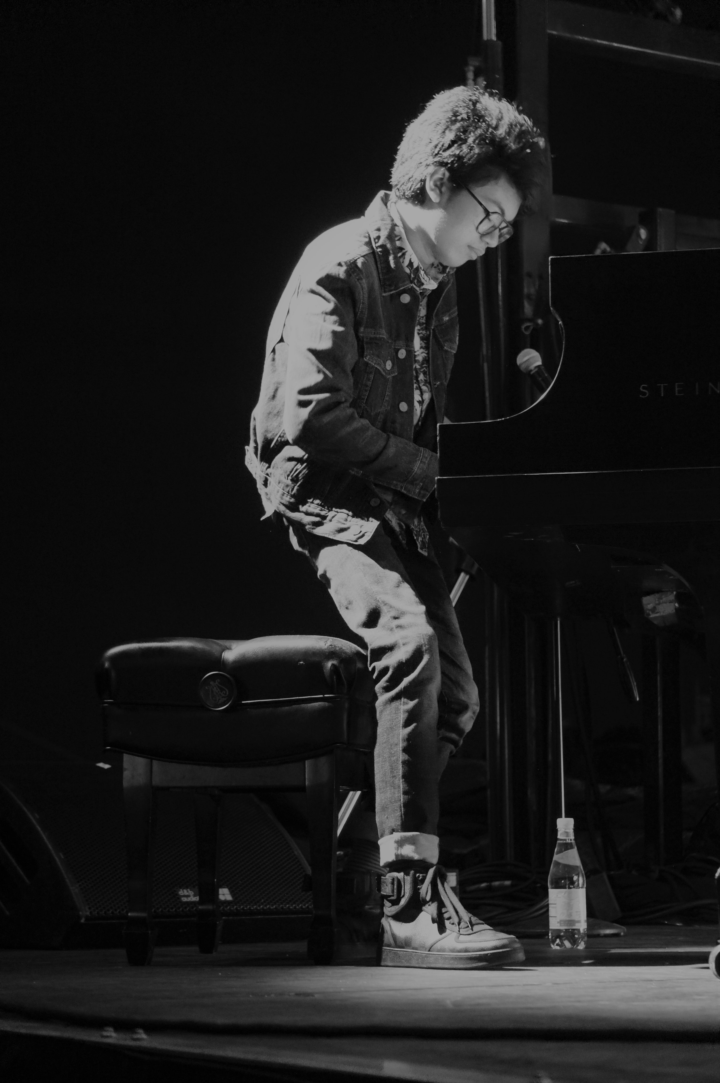 piano prodigy Joey Alexander closes out the DC Jazz Festival with his performance at The Wharf on 6/16/19 (photo by Bridget Arnwine)