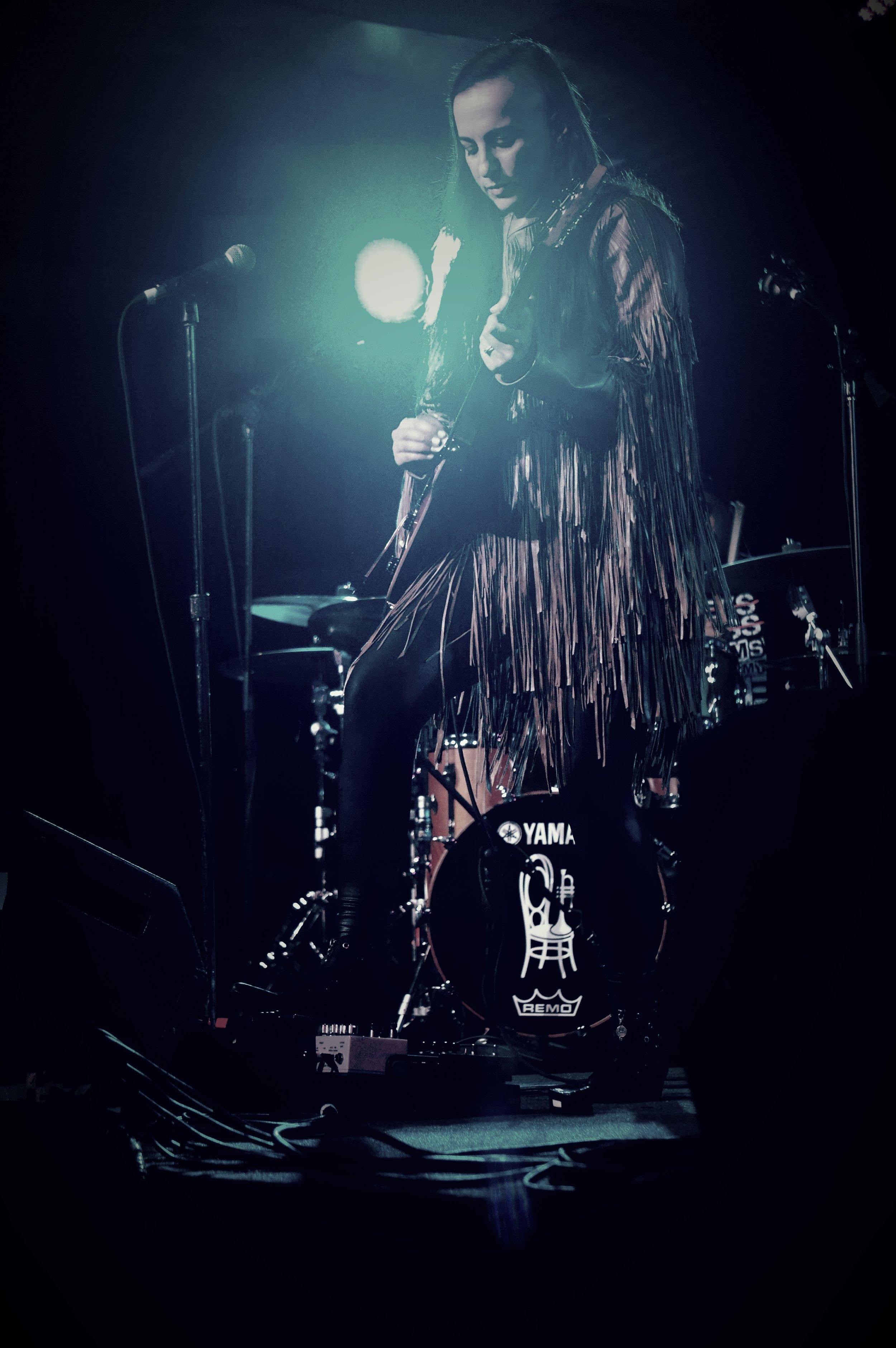 Guitarist Donna Grantis