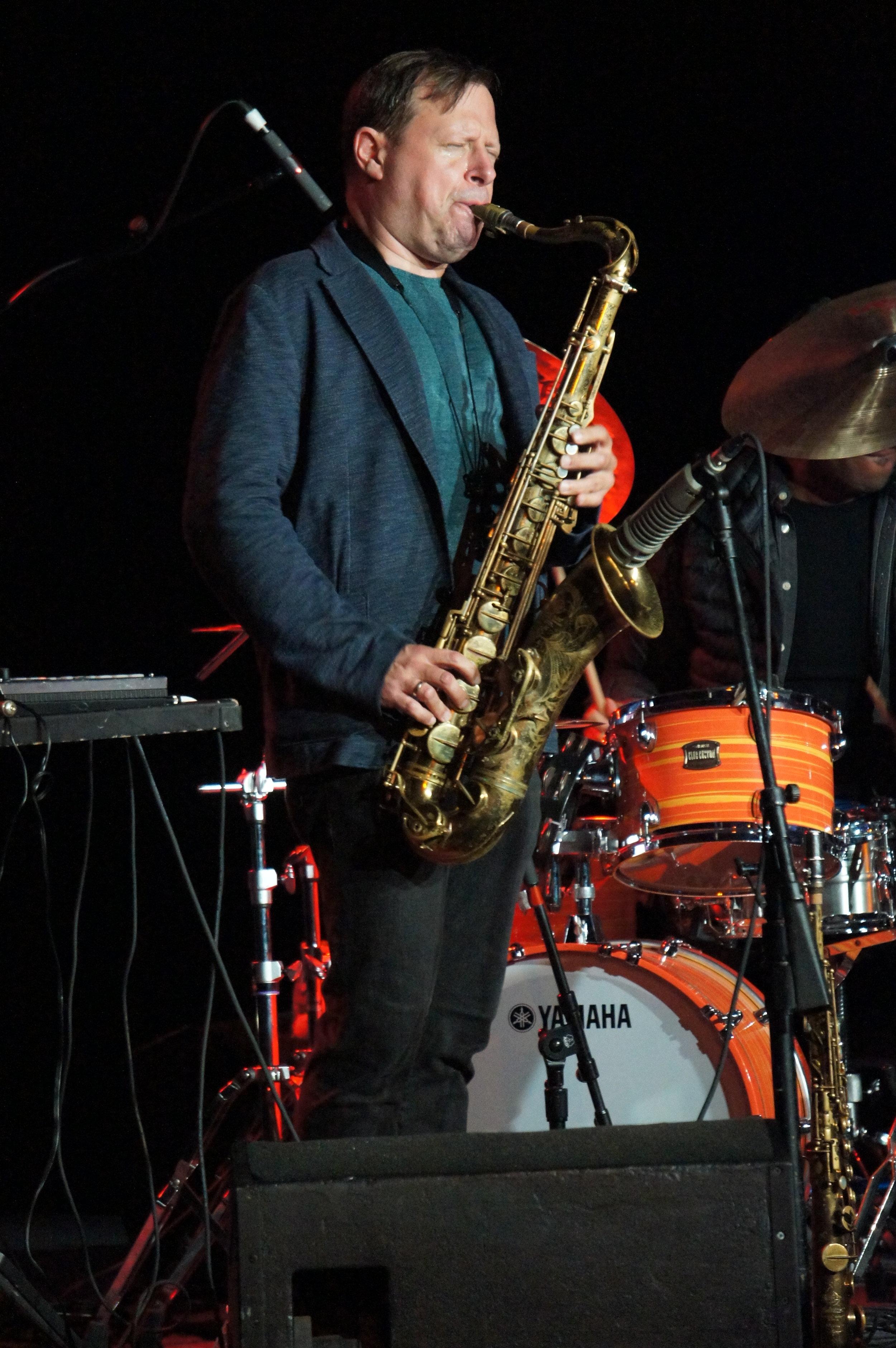 saxophonist Chris Potter