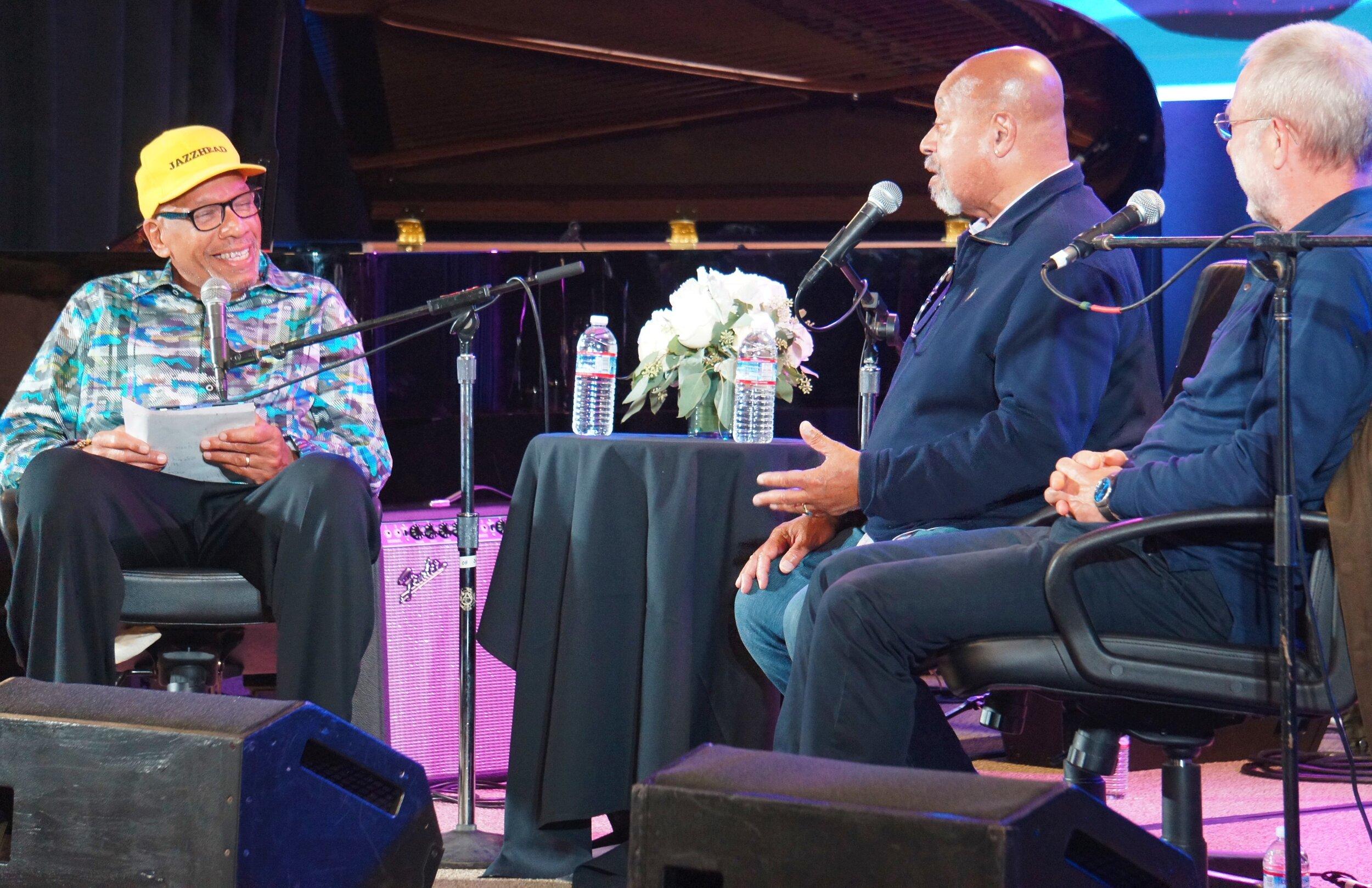 Jazz Journalist Willard Jenkins interviews two NEA Jazz Masters