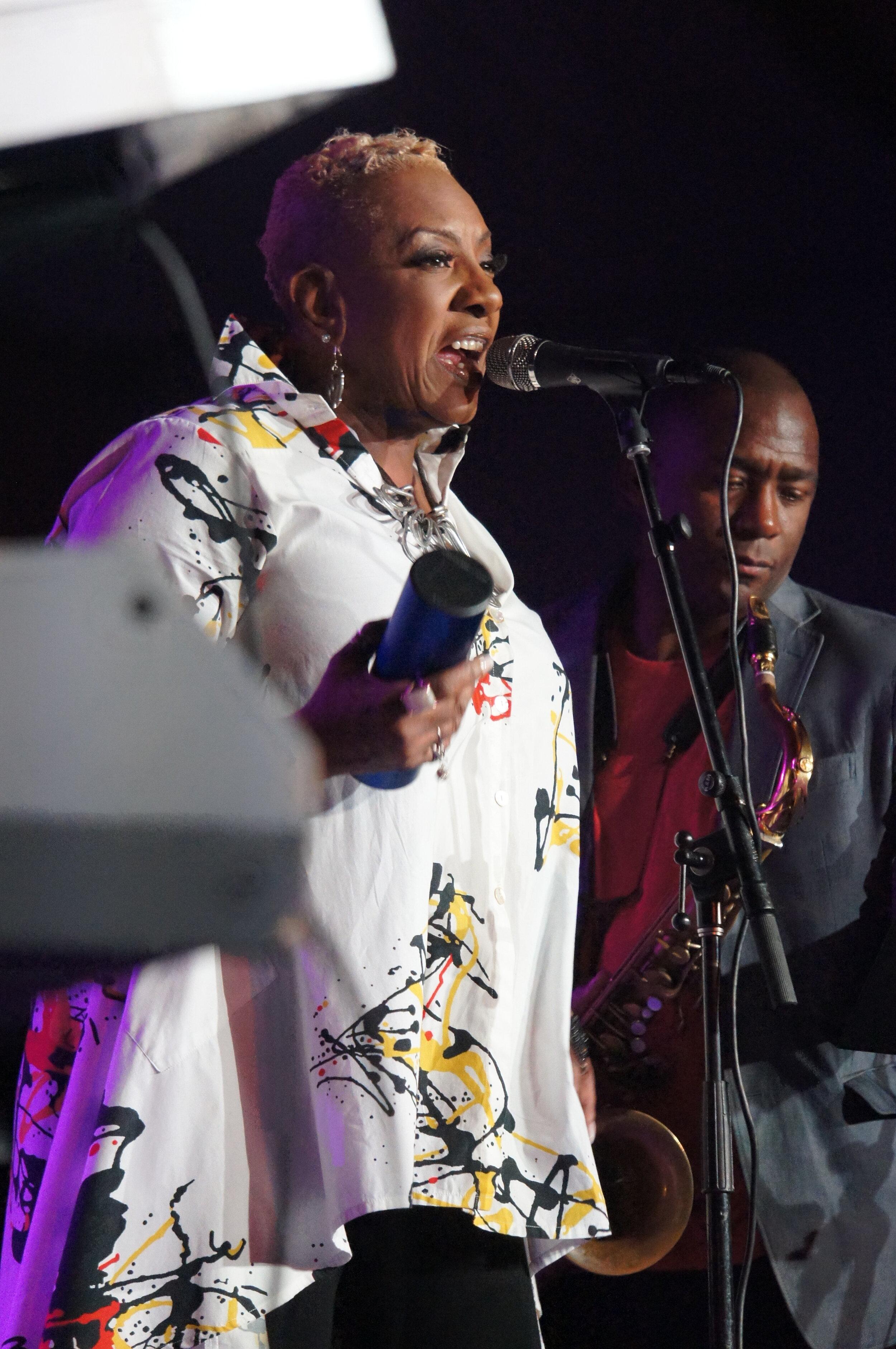 Vocalist Allyson Williams