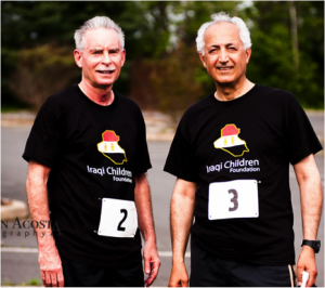 Amb. Faily was joined May 10 by former Iraq Ambassador Samir Sumaida'ie and Ambassador and Deputy Assistant Secretary of State Richard Schmierer (left). Also at the 5K were Gold Star Mothers of fallen soldiers, Iraq war veterans, and prominent members of the Iraqi-American community