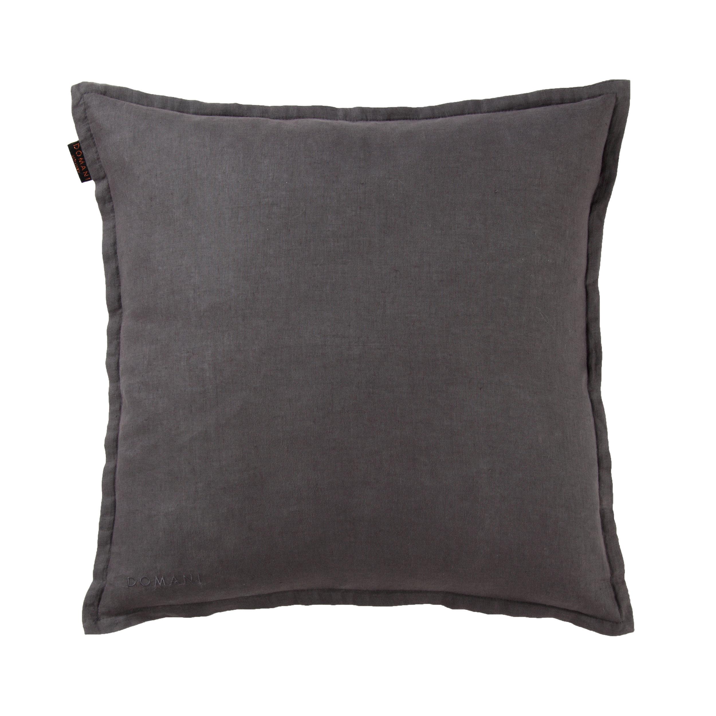 Domani Toscana Cushion Charcoal.JPG